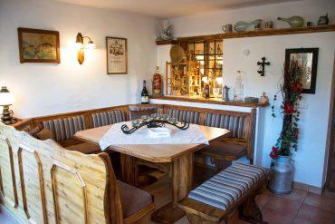 Tischlmühle Frühstücksraum für Gäste