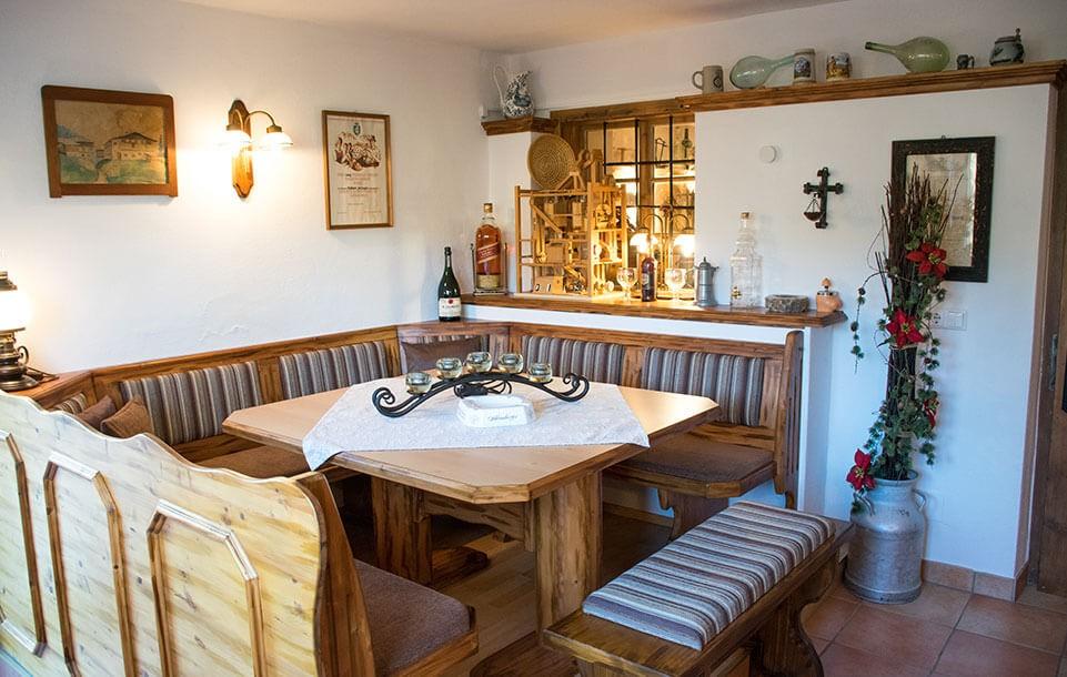 Tischlmühle Frühstücksraum