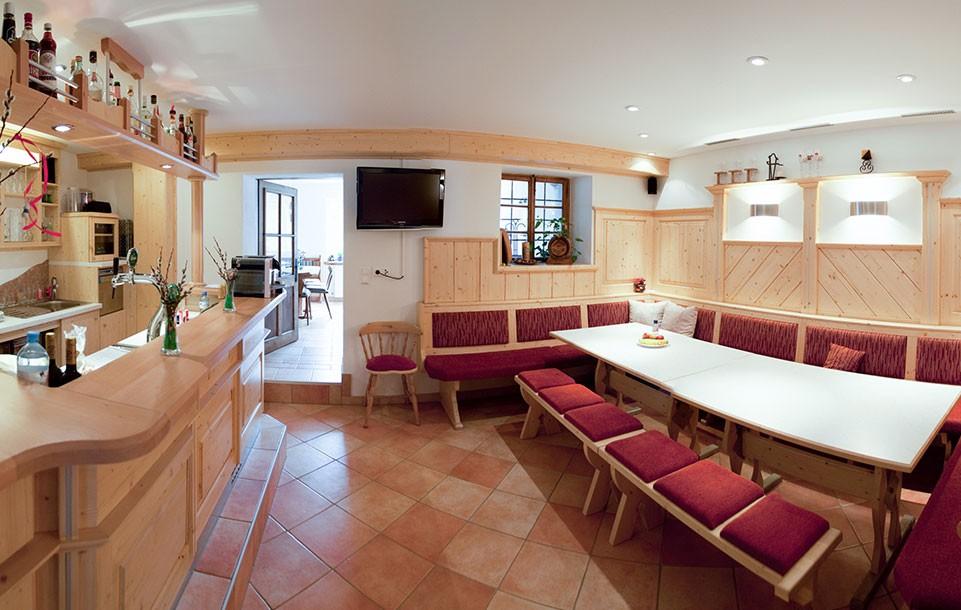 Tischlmühle Bar- und Freizeitraum Innenansicht