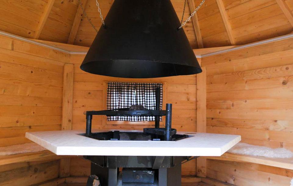 Tischlmühle Grillhaus Innenansicht
