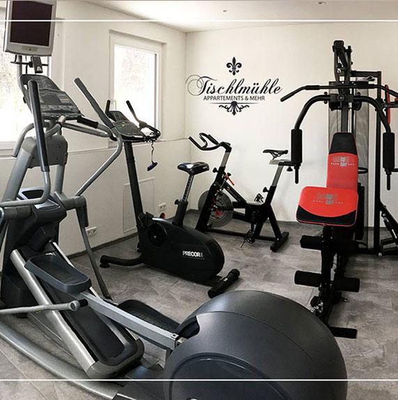 Tischlmühle Appartements Fitnessraum