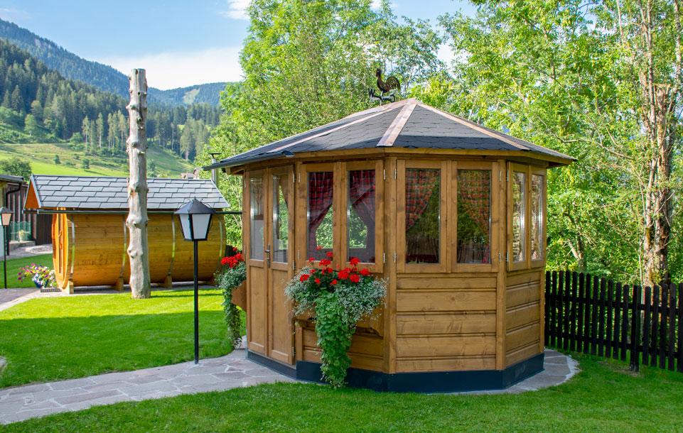 Gartenhaus für unsere Gäste